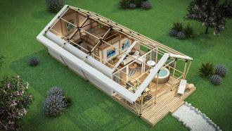 Glamping Resort Croatia Tesla Nest Incentives